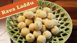 Rava Laddu / Semolina Laddu / Rava Ladoo / Ganesh Chaturthi Special / Divine Taste With Anushruti