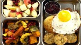 Vegetarian Thanksgiving School Lunch