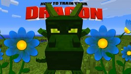 Minecraft - HOW TO TRAIN YOUR DRAGON - R.I.P Ivy the Dragon 31