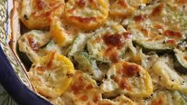 Zucchini And Squash Au Gratin