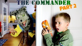 The Commander Wars Part 2 - Banana Boys Nerf Attack - Nerf War Action Movie