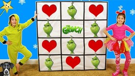 THE GRINCH'S Naughty or Nice GIANT SMASH SURPRISE TOYS WALL GAME