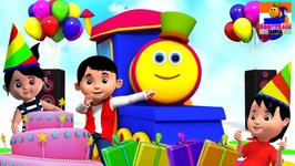 Happy Birthday To Bob - Song In English - Bob The Train India - Hindi Rhymes And Baby Songs