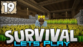 FIRST AUTOMATIC FARM - Survival Let's Play Ep. 19 - Minecraft 1.2 -PE W10 XB1