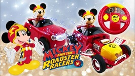 Disney Junior Mickey And The Roadster Racers RC - Radio Remote Control Car Transforms