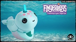 Fingerlings Narwhals Interactive Ocean Pets  Fingerlings Friday