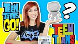 Teen Titans Go  Teen Titans Diy Pop Character Surprise Dc Surprise Hero Robin Epic Toy Channel