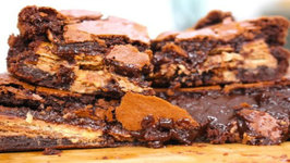 How To Make Kit Kat Brownies