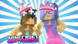 MINECRAFT SCHOOL BEAUTY PAGEANT-WHO WINS THE CROWN?! w/Little Carly and Britney