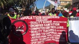 Anti-Zuma Protesters March on Eve of No-Confidence Vote