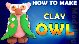 How To Make A Clay Owl - DIY - Clay Owl