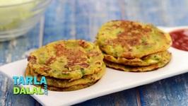 Cabbage Pancakes - Mini Cabbage Pancakes - Quick Pancakes