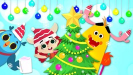 Deck The Halls - Christmas Songs - Kintoons Cartoons For Children - Kids Shows