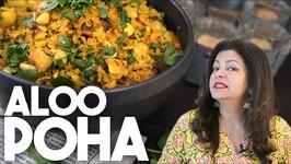 Aloo Poha - Spicy Potato And Flat Rice