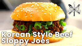 Korean Style Beef Sloppy Joes / Easy Family Recipe