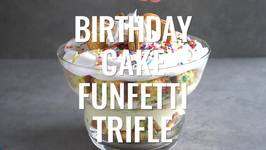 Birthday Cake Funfetti Trifle