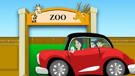 Going to the Zoo Tomorrow - Popular Children Nursery Rhyme Songs with Lyrics -  Animal Children Song