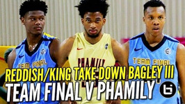 Future NBA Pros Marvin Bagley III And Cam Reddish Doing Work Top 5 Juniors Battle At Nike Eybl