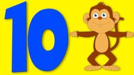 Number Song - Ten Little Monkeys