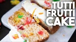 Tutti Frutti Cake - We are 8