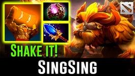 SingSing Earthshaker - SHAKE IT-  Dota 2