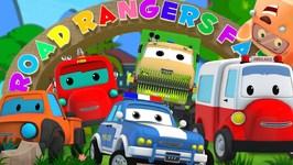 Road Rangers Had A Farm - Fun Kids Song - Episode 24