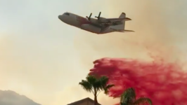 Firefighters Protect Moreno Valley Neighborhoods From Wildfire