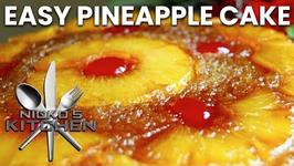Easy Pineapple Cake (3 Ingredients)