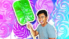DIY How To Make GIANT LOLLIPOP