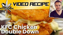 KFC Chicken Double Down
