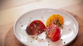 Marinated Heirloom Tomatoes