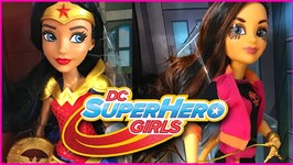 SDCC 2017 DC Super Hero Girls Wonder Woman and Cheetah Exclusive Dolls Review