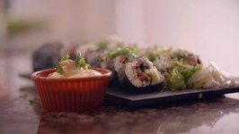 Jambalaya Sushi Roll