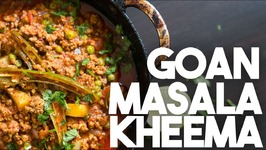 Goan MASALA KHEEMA - Spiced Ground Beef Curry