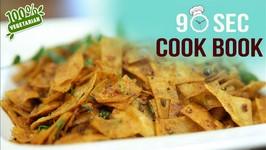 How To Make Masala Roti - 90 Seconds Cook Book - Leftover Chapati Recipe - Masala Chapati