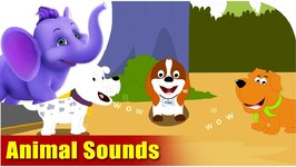 Animal Sounds - Learning Song For Children