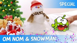 Om Nom and Snowman - Christmas Video