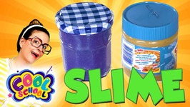 DIY Peanut Butter and Jelly Slime - Fun Slime Recipes - Arts and Crafts with Crafty Carol
