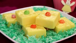 Easter Lemon Fudge