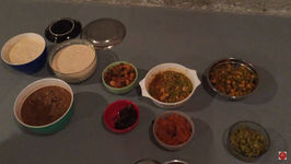 What I Ate During Holidays - Indian Food With Family