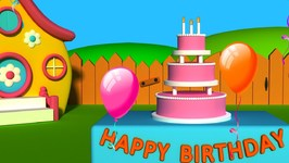 Happy Birthday Songs For Children - Happy Birthday To You - Kids Tv Nursery Rhymes