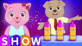 The Magic Bottle Prank SINGLE- Cutians Cartoon Comedy Show For Kids  ChuChuTV Funny Prank Videos