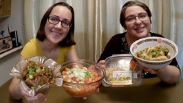 Indian Style Chicken, Tomato Salad And Best Cookies Ever / Gay Family Mukbang - Eating Show
