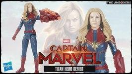 Captain Marvel Titan Hero Figure by Hasbro