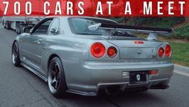 700 Cars Show Up To A Car Meet