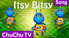 Itsy Bitsy Spider Nursery Rhyme With Lyrics - Cartoon Animation Rhymes and Songs for Children