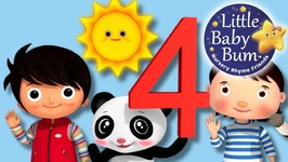Little Baby Bum - The Number 4 Song - Nursery Rhymes for Babies - Songs for Kids