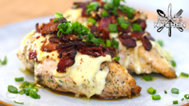 Cheesy Bacon Ranch Chicken / Low Carb Keto Recipe