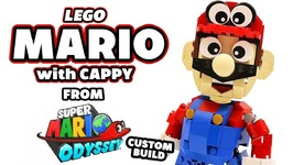 Lego Mario From Super Mario Odyssey Custom Build