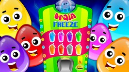 Colors Song - Crazy Eggs - Preschool Learning Videos by Kids Channel